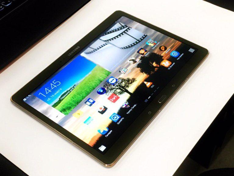 Замена корпусного стекла на планшете Samsung T800